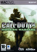 Call of Duty 4: Modern Warfare Macintosh Front Cover