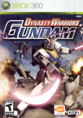 Dynasty Warriors: Gundam Xbox 360 Front Cover