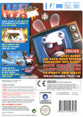 Rayman Raving Rabbids TV Party Wii Back Cover