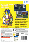 The Simpsons Game Wii Back Cover