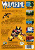 Wolverine NES Back Cover