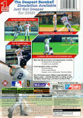 All-Star Baseball 2004 Xbox Back Cover