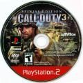 Call of Duty 3 (Special Edition) PlayStation 2 Media Game disc