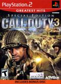 Call of Duty 3 (Special Edition) PlayStation 2 Front Cover