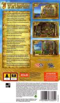 7 Wonders of the Ancient World PSP Back Cover