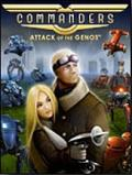 Commanders: Attack of the Genos Windows Front Cover