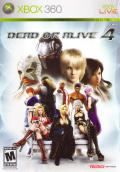 Dead or Alive 4 Xbox 360 Front Cover