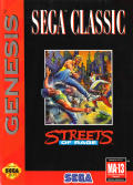 Streets of Rage Genesis Front Cover