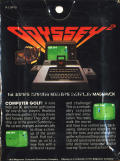 Computer Golf! Odyssey 2 Back Cover
