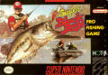 Super Black Bass SNES Front Cover
