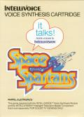 Space Spartans Intellivision Front Cover