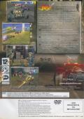 Jak X: Combat Racing PlayStation 2 Back Cover