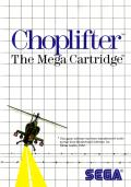 Choplifter! SEGA Master System Front Cover