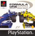 Formula One 2000 PlayStation Front Cover