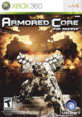 Armored Core: For Answer Xbox 360 Front Cover