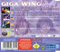 Giga Wing Dreamcast Back Cover
