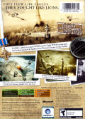 Blazing Angels: Squadrons of WWII Xbox Back Cover