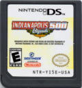 Indianapolis 500 Legends Nintendo DS Back Cover
