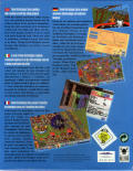 Theme Park Amiga CD32 Back Cover