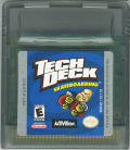Tech Deck Skateboarding Game Boy Color Media