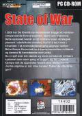 State of War Windows Back Cover