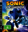 Sonic Unleashed PlayStation 3 Front Cover