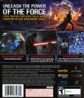 Star Wars: The Force Unleashed PlayStation 3 Back Cover