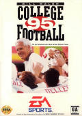 Bill Walsh College Football 95 Genesis Front Cover