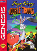 Bugs Bunny in Double Trouble Genesis Front Cover