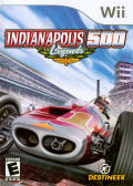 Indianapolis 500 Legends Wii Front Cover