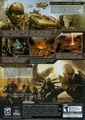 Enemy Territory: Quake Wars Windows Back Cover