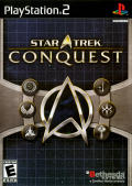 Star Trek: Conquest PlayStation 2 Front Cover