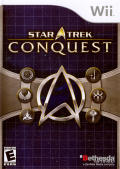 Star Trek: Conquest Wii Front Cover