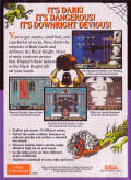 Dark Castle Genesis Back Cover