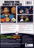 Fight Night Round 3 Xbox Back Cover