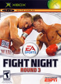 Fight Night Round 3 Xbox Front Cover