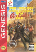 Lethal Enforcers II: Gun Fighters Genesis Front Cover
