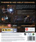 Dead Space PlayStation 3 Back Cover