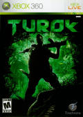 Turok Xbox 360 Front Cover