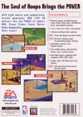 NBA Live 98 Genesis Back Cover