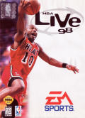 NBA Live 98 Genesis Front Cover
