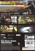 Call of Duty: World at War Windows Back Cover