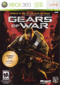 Gears of War (2-Disc Edition) Xbox 360 Front Cover