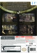 Tomb Raider: Underworld Wii Back Cover