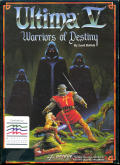Ultima V: Warriors of Destiny Amiga Front Cover