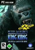 Peter Jackson's King Kong: The Official Game of the Movie Windows Front Cover