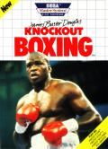 "James ""Buster"" Douglas Knockout Boxing SEGA Master System Front Cover"