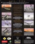 Jane's Combat Simulations: WWII Fighters Windows Back Cover