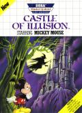 Castle of Illusion starring Mickey Mouse SEGA Master System Front Cover