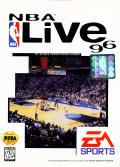 NBA Live 96 Genesis Front Cover